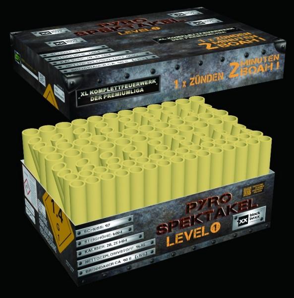 Pyro-Spektakel, Level 1 von Blackboxx