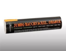 Jumbo Rauchfackel orange