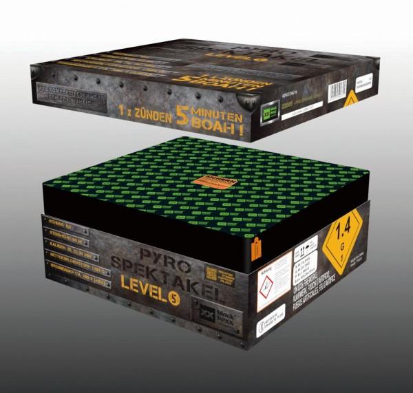 Pyro-Spektakel, Level 5 von Blackboxx