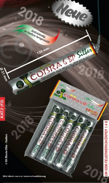 Cobra 6 BP Silver