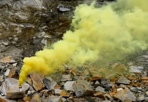 Farbrauchtopf gelb