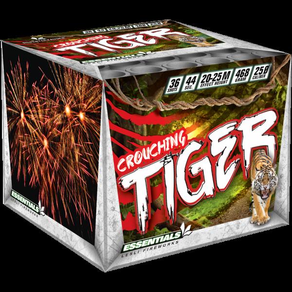 Crouching Tiger von Lesli